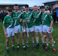 Abbey students help Mooncoin to Minor A Hurling Final success!