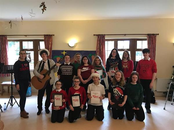 Abbey Glee Club perform at Rockshire Daycare Centre