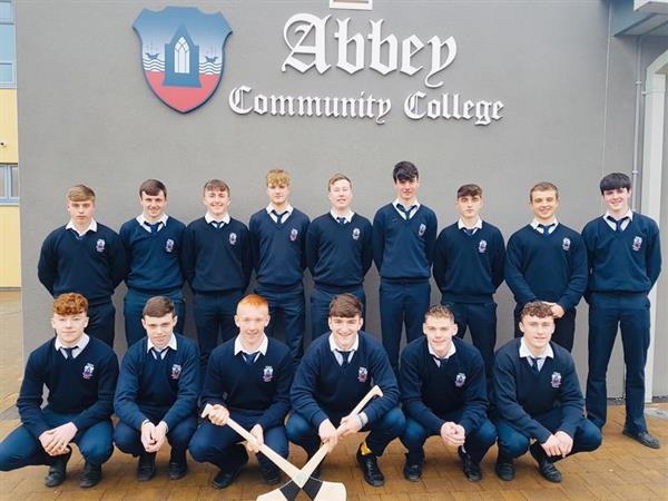 6th Year Hurlers - We Thank You