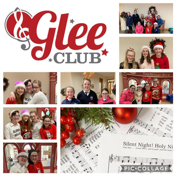 Glee Club Spread Community Christmas Cheer