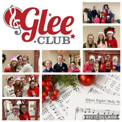 Glee Club Spread Community Christmas Cheer