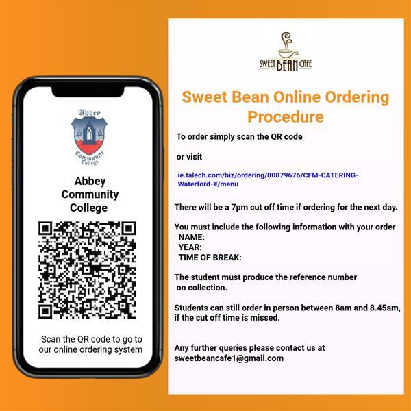 Canteen Pre-Order Online