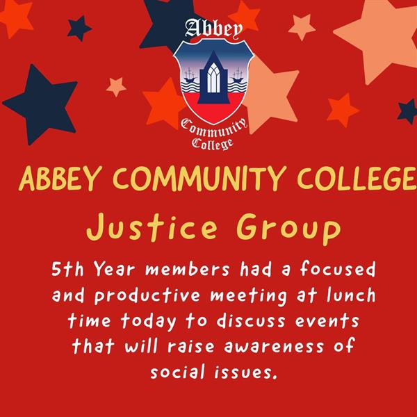 Justice Group are back and planning is already underway!