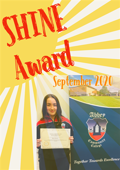 TY September SHINE Award