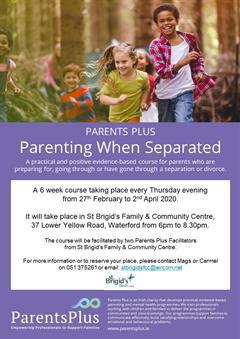 Parenting Plus Poster