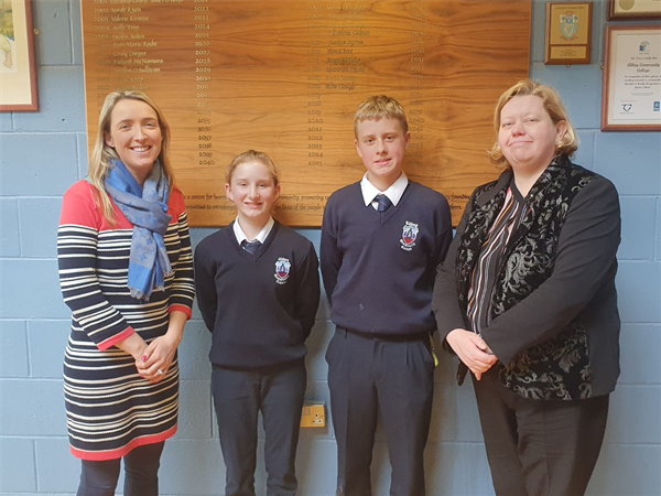 Abbey students win trip to Brussels