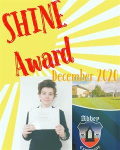 TY SHINE Award for December